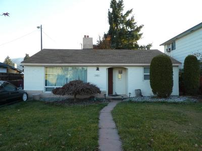 Wenatchee WA Single Family Home For Sale: $189,900