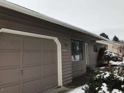 East Wenatchee WA Single Family Home Sold: $191,938
