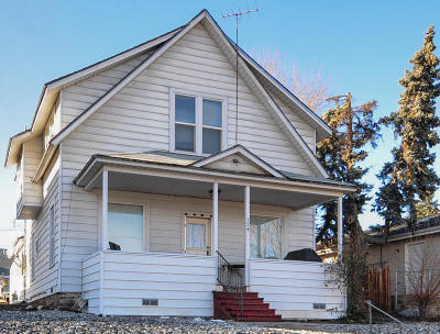 Wenatchee Multi Family Home For Sale: 124 N Buchanan Ave