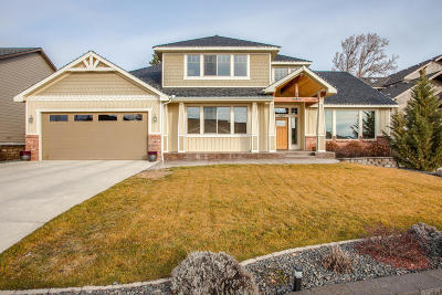 Wenatchee Single Family Home For Sale: 1820 McKittrick Street