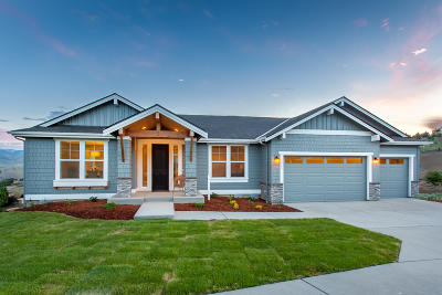 Wenatchee Single Family Home For Sale: 113 Lone Ram (Lot 25) Ln