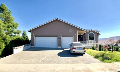 Wenatchee Single Family Home For Sale: 3639 Ridgeview Blvd