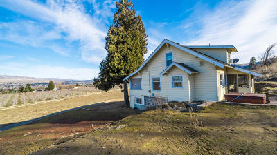 Wenatchee WA Single Family Home For Sale: $295,000