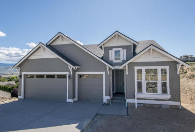 Wenatchee Single Family Home For Sale: 211 Burch Hollow (Lot 2) Ln