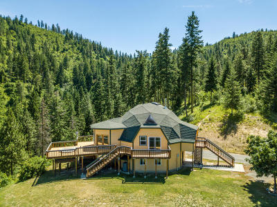 Leavenworth Single Family Home For Sale: 8395 Mountain Home Rd