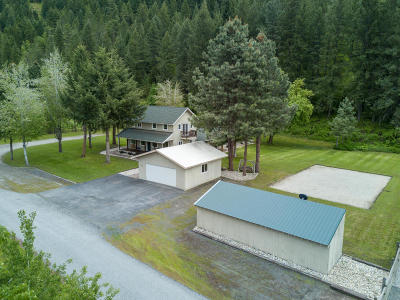 Leavenworth Single Family Home For Sale: 11451 Eagle Creek Rd