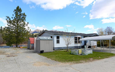 Cashmere Manufactured Home For Sale: 7900 Stine Hill Rd #2