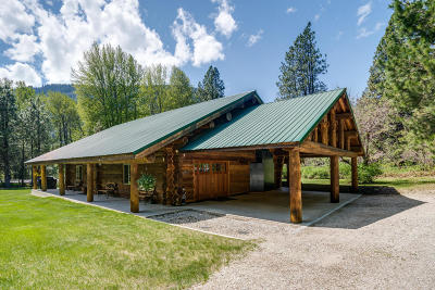 Leavenworth Single Family Home For Sale: 18680 Us-2