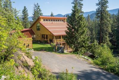 Leavenworth Single Family Home For Sale: 18757 River Road