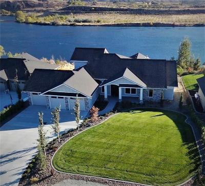East Wenatchee, Rock Island, Orondo Single Family Home For Sale: 5030 Hurst Landing Rd