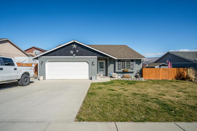 Wenatchee WA Single Family Home For Sale: $310,977