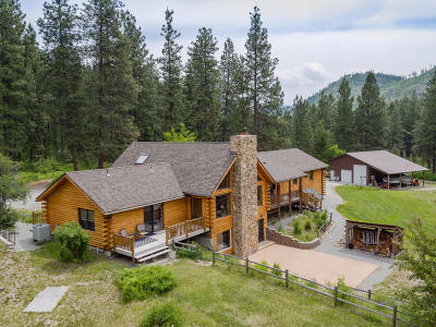 Chelan Single Family Home For Sale: 1880 First Creek Road