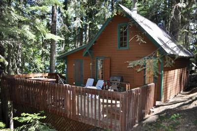 Leavenworth Single Family Home For Sale: Cabin 35 South Shore Summer Cabins