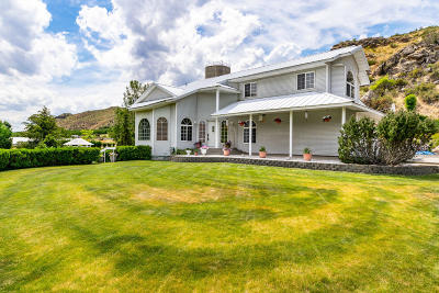 Entiat Single Family Home For Sale: 14560 Olin St