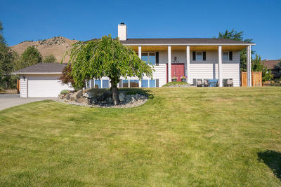Wenatchee Single Family Home For Sale: 1832 Agate Pl