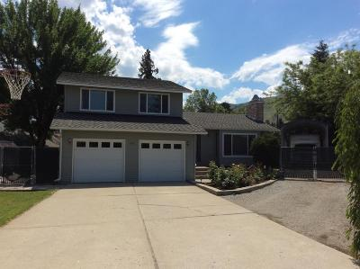 Wenatchee WA Single Family Home For Sale: $329,950