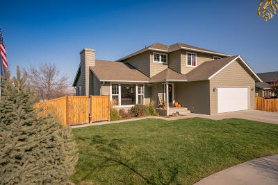 Wenatchee Single Family Home For Sale: 552 Saddle Rock Loop