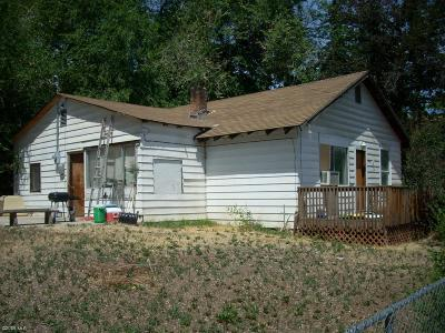 Wenatchee WA Single Family Home For Sale: $119,900