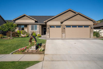 Wenatchee Single Family Home For Sale: 1406 Kirby Ln
