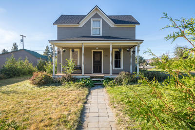 Waterville Single Family Home For Sale: 126 W Ash St