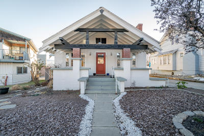 Wenatchee Single Family Home For Sale: 309 Okanogan Ave