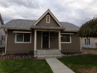 Wenatchee Single Family Home For Sale: 831 S Monroe St