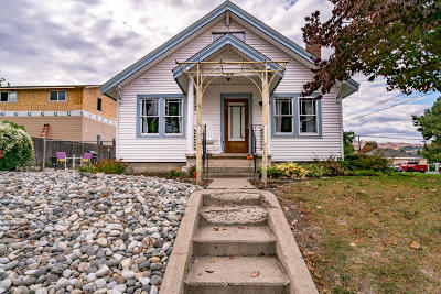 Wenatchee Single Family Home For Sale: 320 N Garfield Ave