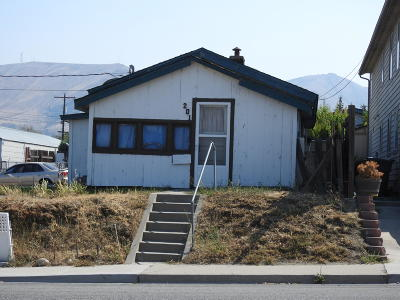 Wenatchee Single Family Home For Sale: 201 Marr St