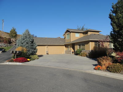 Wenatchee Single Family Home For Sale: 1618 Quail Hollow Ln
