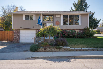 Wenatchee Single Family Home For Sale: 1209 3rd St