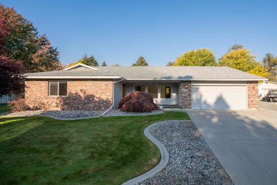 Wenatchee Single Family Home For Sale: 1548 Huckleberry Ln