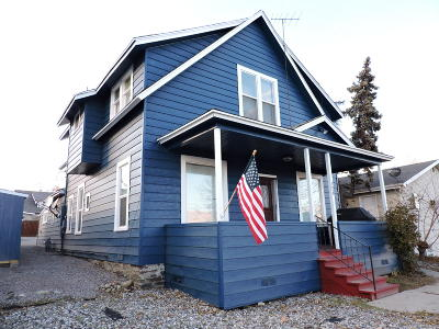 Wenatchee Multi Family Home For Sale: 124 Buchanan Ave