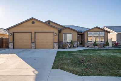East Wenatchee Single Family Home For Sale: 1382 Boulder Loop
