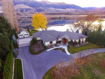 East Wenatchee, Rock Island, Orondo Single Family Home For Sale: 5120 State Route 28