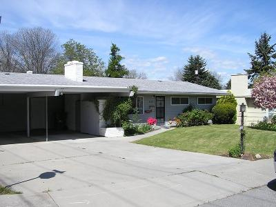 Wenatchee, Malaga Single Family Home For Sale: 1134 Linwood Ave