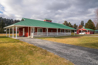 Leavenworth Single Family Home For Sale: 18688 Alpine Acres Rd