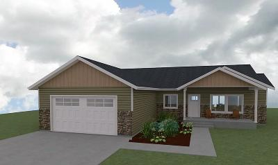 Entiat Single Family Home For Sale: 9992 Saska Way #Lot 24