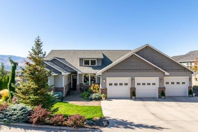 East Wenatchee, Rock Island, Orondo Single Family Home For Sale: 2406 Catalina Dr