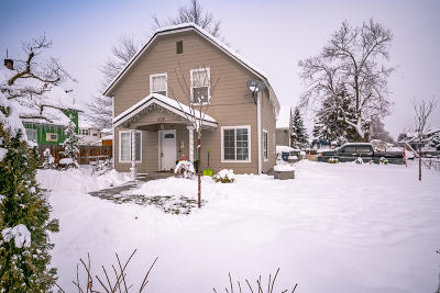 Wenatchee Single Family Home For Sale: 502 First St