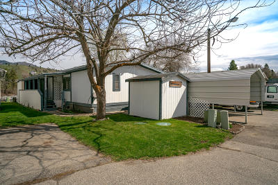 Cashmere Manufactured Home For Sale: 7900 Stine Hill Rd #5