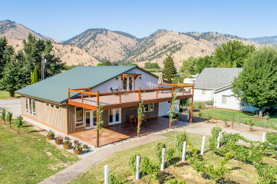 Cashmere WA Single Family Home For Sale: $495,000