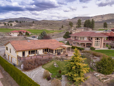 East Wenatchee, Rock Island, Orondo Single Family Home For Sale: 306 Desert Canyon Blvd