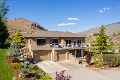 Wenatchee Single Family Home For Sale: 7495 Pot O Gold Ln