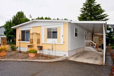 Wenatchee Manufactured Home For Sale: 1311 Maple St #7