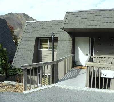 Wenatchee Condo/Townhouse For Sale: 1818 Skyline Dr #39