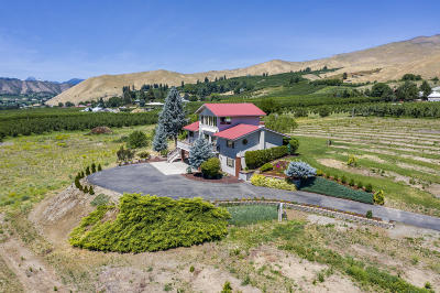 Wenatchee, Malaga Single Family Home For Sale: 2004 Lower Monitor Rd