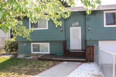 East Wenatchee Single Family Home For Sale: 118 Ridgemont Dr