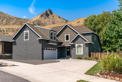 Wenatchee Single Family Home For Sale: 1940 Grandview Loop