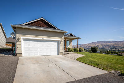 Wenatchee Single Family Home For Sale: 1510 Columbia View Ct