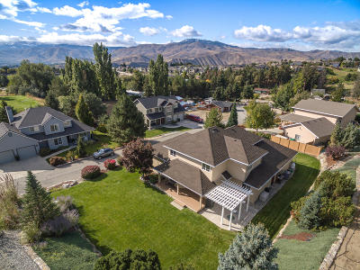 Wenatchee Single Family Home For Sale: 3629 Burchvale Rd